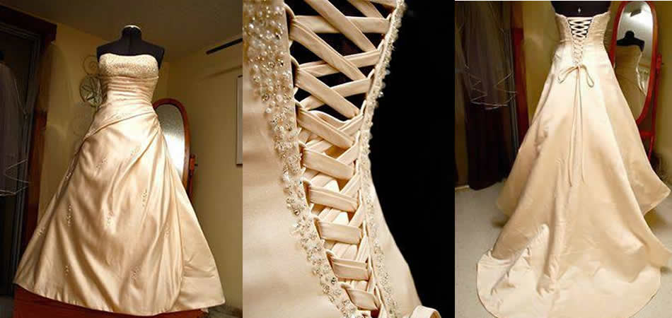 """Custom Wedding Gown Alterations"""